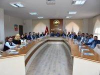 TOBB Aksaray Genç Girişimciler kurulu ilk toplantısını gerçekleştirdi