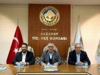 """""""Aksaray'ın efsane başkanı Haluk Şahin Yazgı'ya hizmetleri için teşekkür ediyoruz"""""""