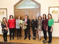 Kadın Girişimciler Kurulundan Vali Ali Mantı'ya ziyaret
