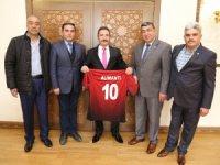 ASKF'den Vali Ali Mantı'ya ziyaret