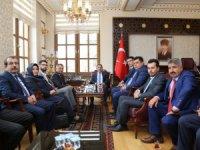 İl Genel Meclisi Üyelerinden Ali Mantı'ya ziyaret