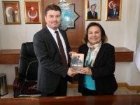 Türkiye Yardım Sevenler Derneği'nden Evren Dinçer'e hayırlı olsun ziyareti