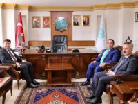 Belediye Başkanı Evren Dinçer'e Hayırlı Olsun Ziyareti