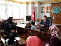 Ak Parti Kadın Kollarından Başkan Dinçer'e hayırlı olsun ziyareti