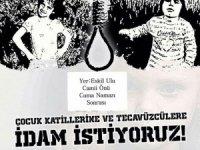 Çocuk istismarcıları Eskil'de protesto edilecek