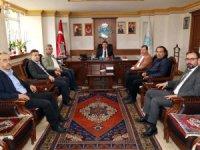 Özbek'ten Dinçer'e ziyaret