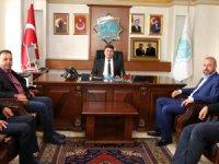 Aksaray Veterinerler Odası yönetiminden Başkan Dinçer'e ziyaret