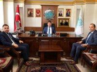 Mahkeme Başkanlarından Başkan Dinçer'e hayırlı olsun ziyareti