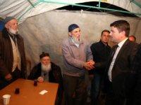 Başkan Dinçer, Aktürk'e taziye ziyaretinde bulundu