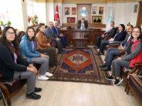 """Belediye Başkanı Dinçer, """"Öğrencilerimizi tebrik ediyorum"""""""