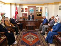 Müftülük heyetinden Başkan Dinçer'e hayırlı olsun ziyareti