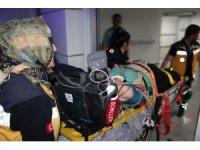 Aksaray'da minibüsün greydere çarptığı kazada 1 kişi hayatını kaybetti