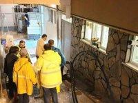 Aksaray Belediyesi 7/24 yağmur sularıyla mücadele ediyor