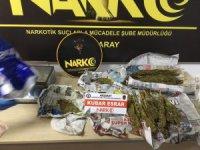 Aksaray'da uyuşturucu tacirleri tutuklandı