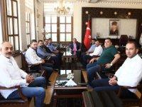 Aksaray Spor Yeni Yönetimi'nden Vali Ali Mantı' ya ziyaret