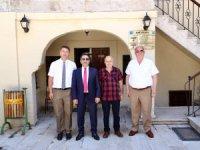 Vali Ali Mantı Kültür ve Turizm Müdürlüğü ile Müze Müdürlüğünü ziyaret etti
