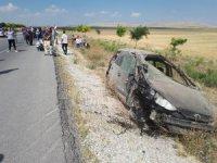 Avusturya'dan gelen gurbetçi aile kaza yaptı: 6 yaralı
