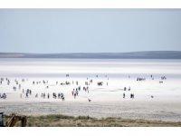 Tuz Gölü'ne yoğun ilgi