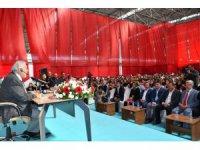 Tarihçi Yazar İlber Ortaylı'ya Aksaray'da yoğun ilgi