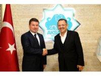 Mehmet Özhaseki'den Başkan Dinçer'e ziyaret