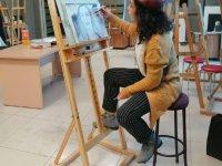 Gülhan Kartal'ın Kara Kalem Çalışması Büyük Beğeni Topladı