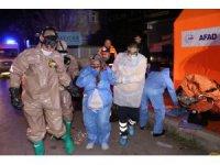 Aksaray'da kimyasal biyolojik ve şarbon alarmı