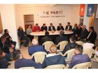 AK Parti heyeti Güzelyurt ilçesinde incelemelerde bulundu