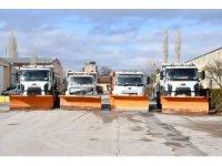 Aksaray Belediyesi kış hazırlıklarını tamamladı