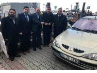 Kağıthane Müftülüğünden Sultanhanı Müftülüğüne otomobil hibe edildi