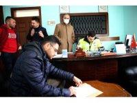 Aksaray Otogarında seyahat izin kurulu göreve başladı