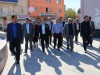 Yazgı'dan Gülağaç Belediye Başkanı Teymen'e ziyaret