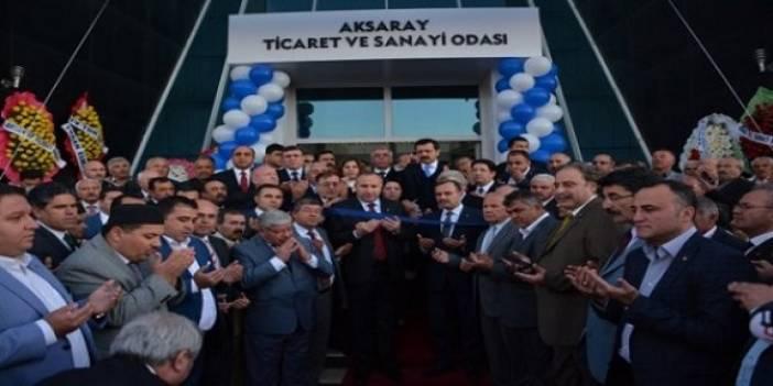 ATSO Hizmet Binasının Açılışını Tobb Başkanı Rifat Hisarcıklıoğlu Yaptı