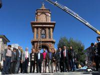Bu saat kulesi Aksaray'a yakıştı!