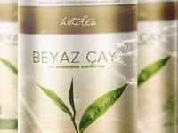 White tea form çayı