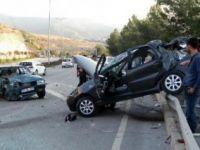 Aksaray'da görev yapan doktorlar kaza yaptı 1 ölü 1 yaralı
