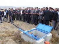 5 Milyon TL tutarında basınçlı sulama sistemi açıldı