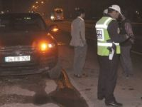 Aksaray'da trafikte felaketten dönüldü