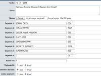 Aksaray Ak Parti İl Başkanlığı Anketimiz Sonuçlandı İşte Sonuçlar...