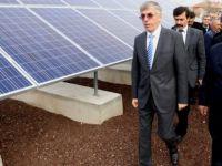 Köylerde güneş enerjisi ile elektrik dönemi