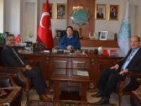 Meteoroloji Bölge Müdürü, Başkan Yazgı'yı Ziyaret Etti