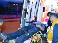Aksaray-Nevşehir yolundaki kazada 2 kişi yaralandı