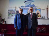 Aksaray İl Müdürlüğüne Merkez Valisi Aydoğdu'dan ziyaret