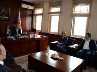Başkan Yazgı ve Milletvekili Adaylarından Adliye Sarayına Ziyaret