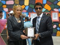 Kardelen öğretmen Mavili Akbudak'ın okuluna Turkcell'den destek