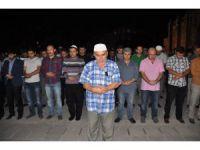 Aksaray'da Uygur Türkleri İçin Gıyabi Cenaze Namazı