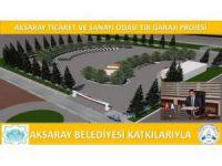 ATSO Tır Garajı Projesi'ne Hazırlanıyor