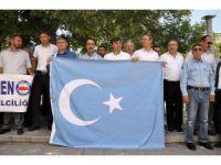 Aksaray'da Çin Hükümetine Tepki