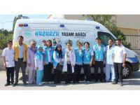 Aksaray'da Yatağa Bağımlı Hastalara Evinde Sağlık Hizmeti