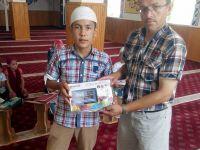 Sultanhanı'nda Kur'an Hafızları Ödüllendirildi