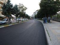 Ebulfeyz Elçibey Caddesinin Asfaltı Yenilendi